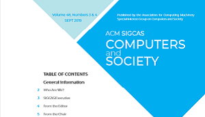 Computers and Society Cover