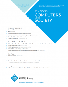 Computers and Society 49(2) September 2020 is Available