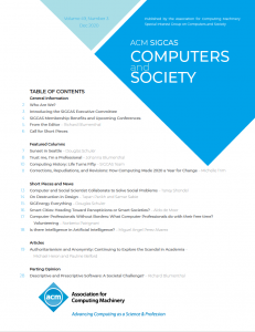 Computers and Society 49(3) December 2020 is Available